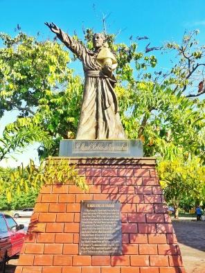 Fr Miguel Robles De Covarrubias Statue