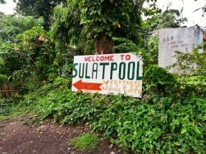 Sulat Pool Signage