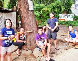 Before heading back to Naga City