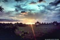 Sunset at Naga City