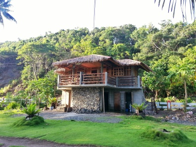 House at Diguisit Beach