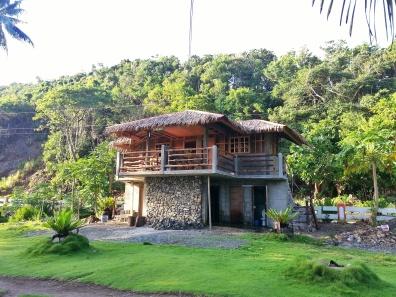 House at Diguisit Beach