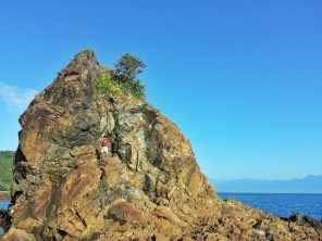 Rock Formation at Diguisit Beach
