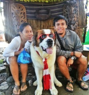 Picture with the Dog