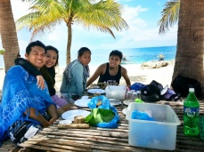 Lunch Time at Cabugao Island